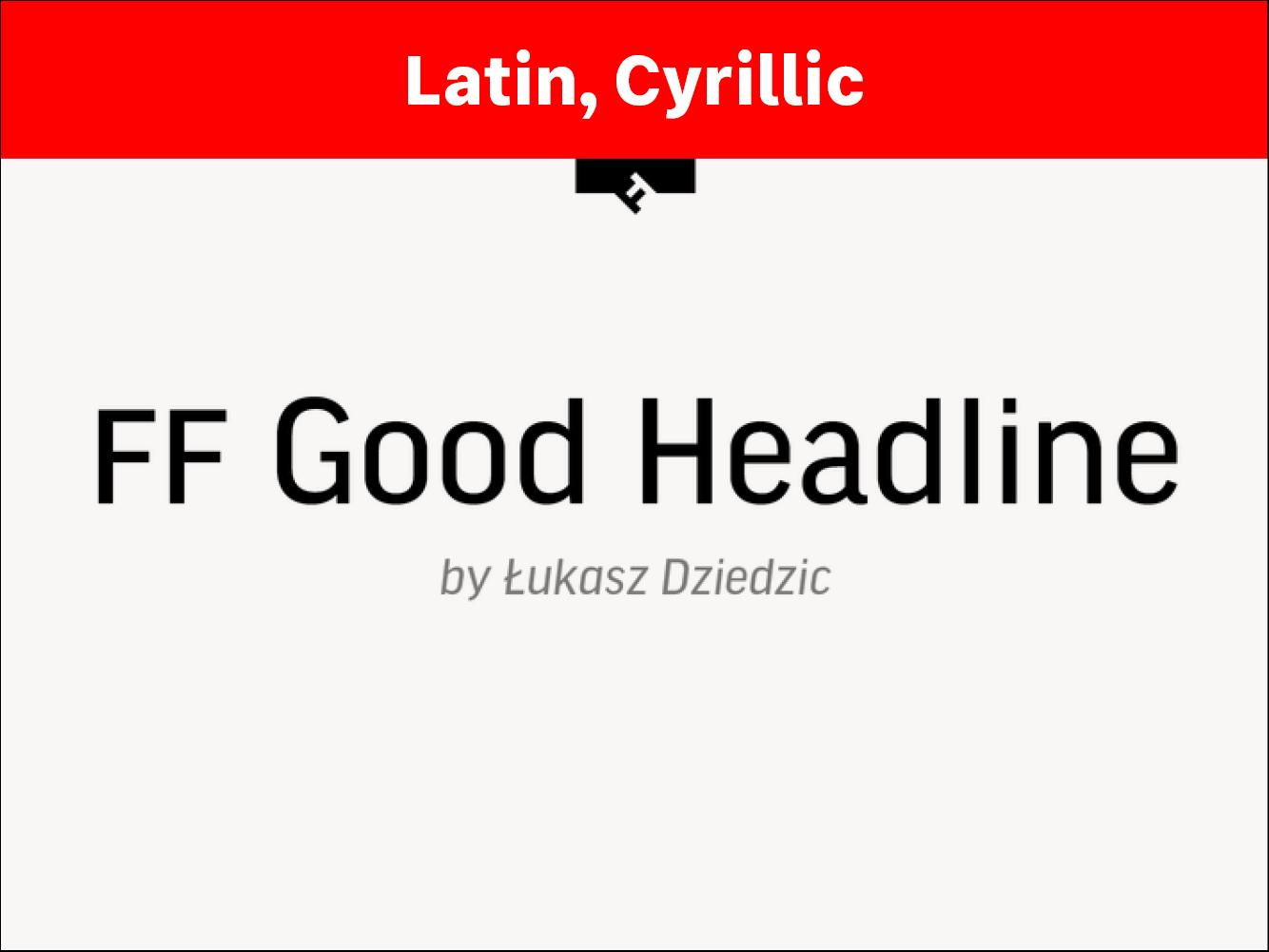 FF Good Headline