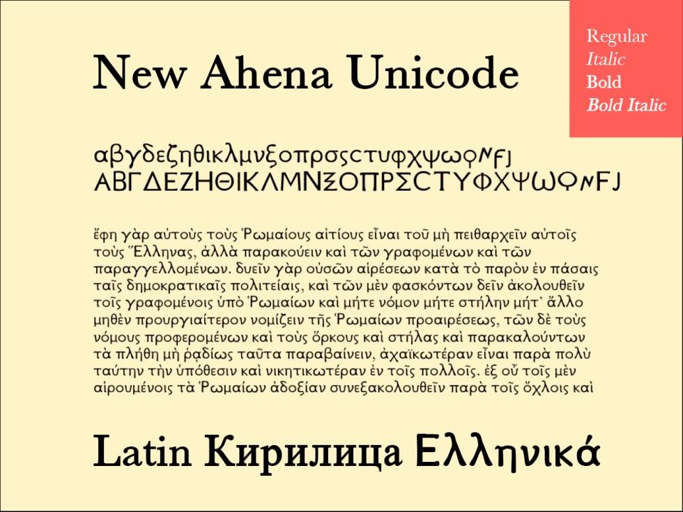 New Ahena Unicode