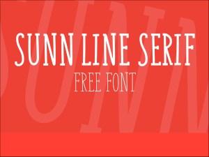 Sunn Line Serif