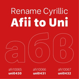 Afii To Unicode Map Cyrillic