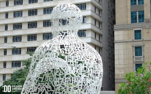 Singapore Soul by Jaume Plensa