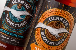 Glarus Signature Beer Label Design by the Labelmaker