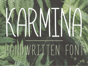 Karmina. Free for PERSONAL USE!