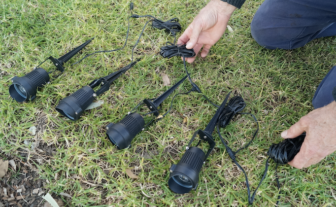 How to install cable for garden lighting your local gardener begin by determining the location of your garden lighting project and then the closest existing outlet on your house or garage aloadofball Image collections