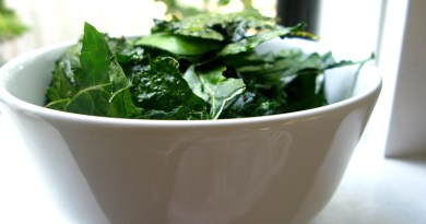 Kale recipes chips