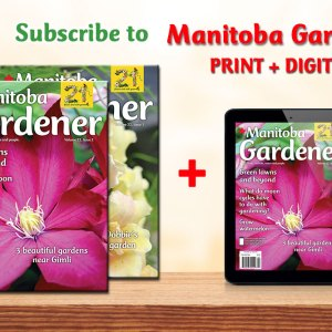 Manitoba Gardener print plus digital