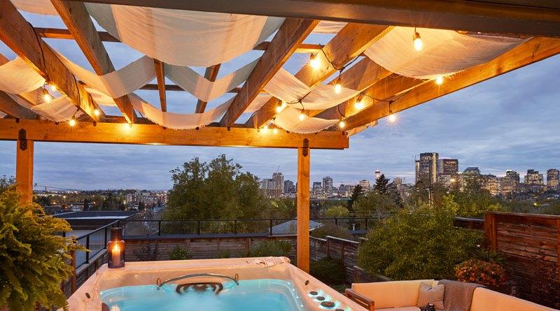Pergolas for backyard privacy