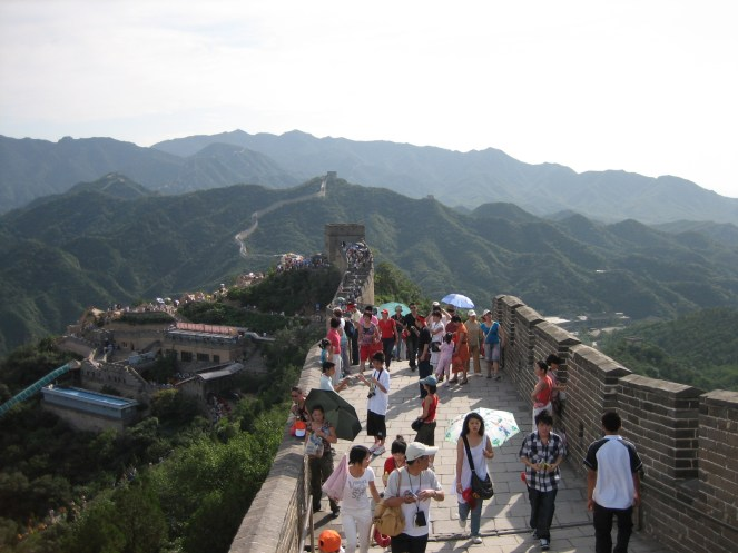 Great Wall and the great population...