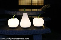 I love these garden lights. Little Asia guesthouse minamiaso