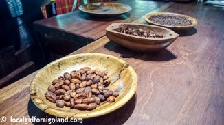 Fermented, roasted cacao