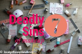 Seven Deadly Sins of Makeup Tag