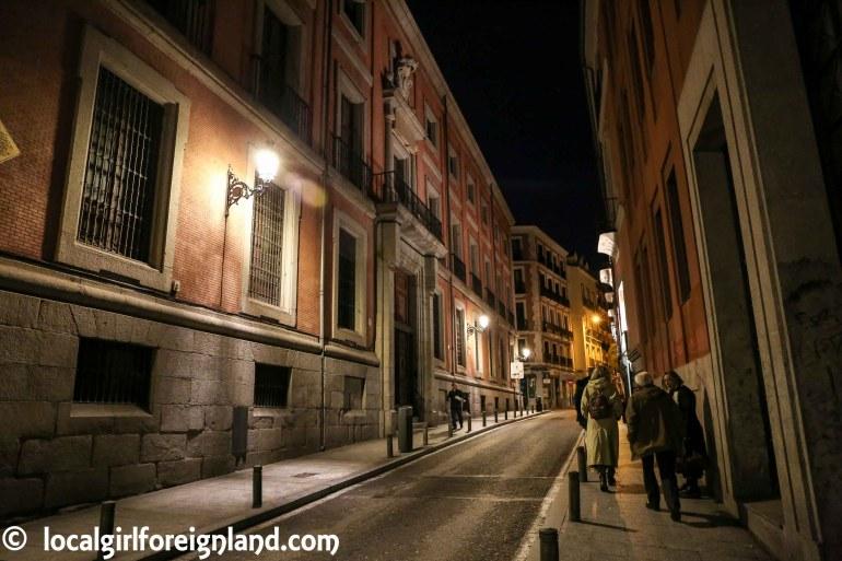 Confession House, Calle de Torija, Madrid. Spanish inquisition