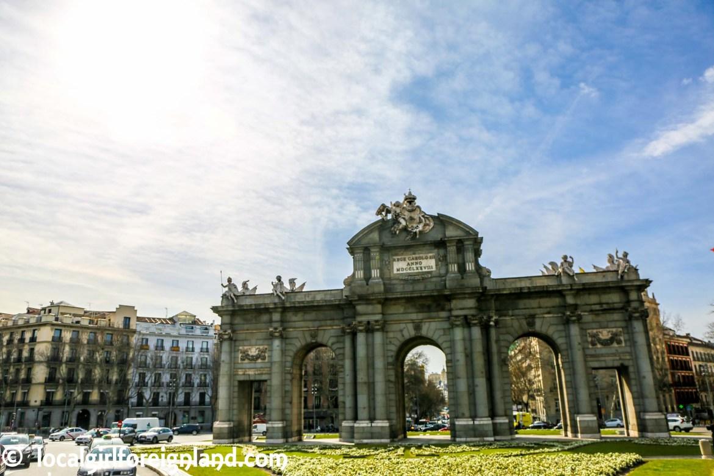 Puerta de Alcala gate, Madrid