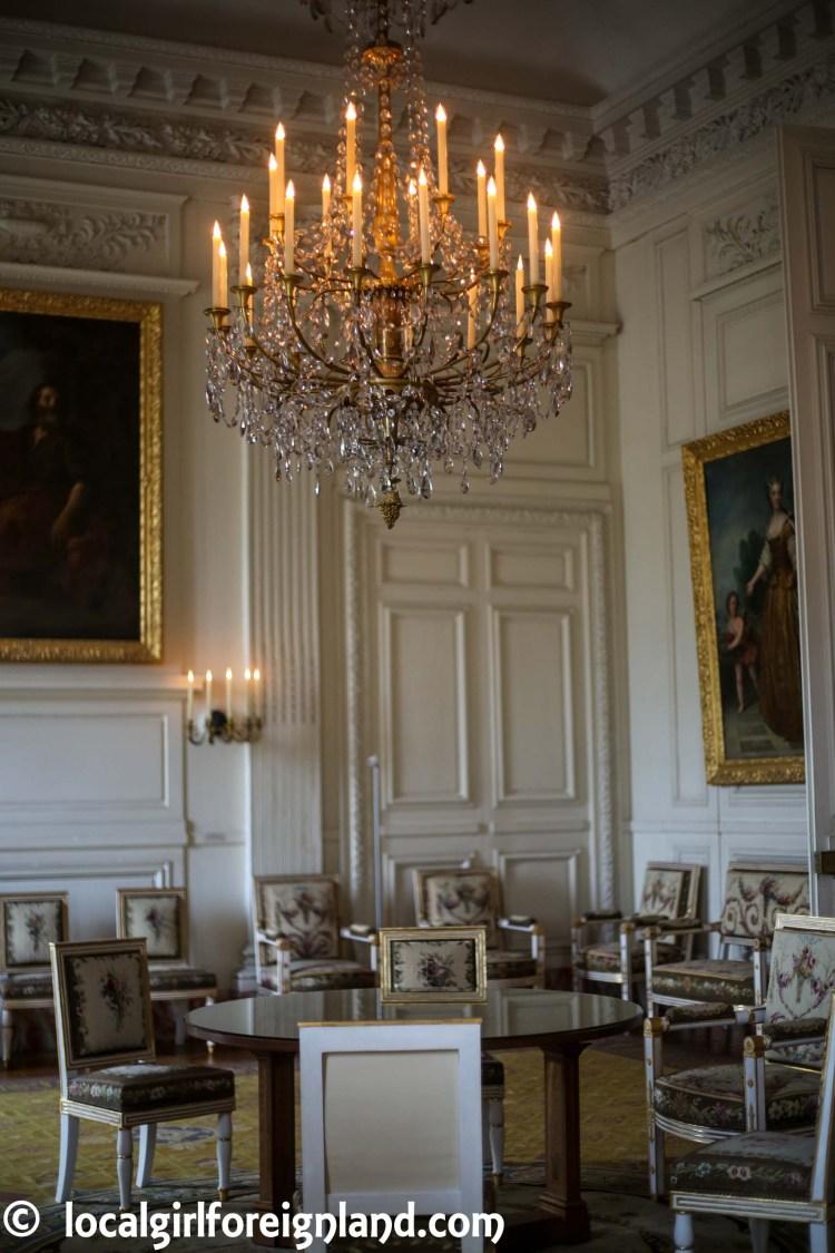 Salon de Chapel - Grand Trianon, the pink marble palace, Versailles. France