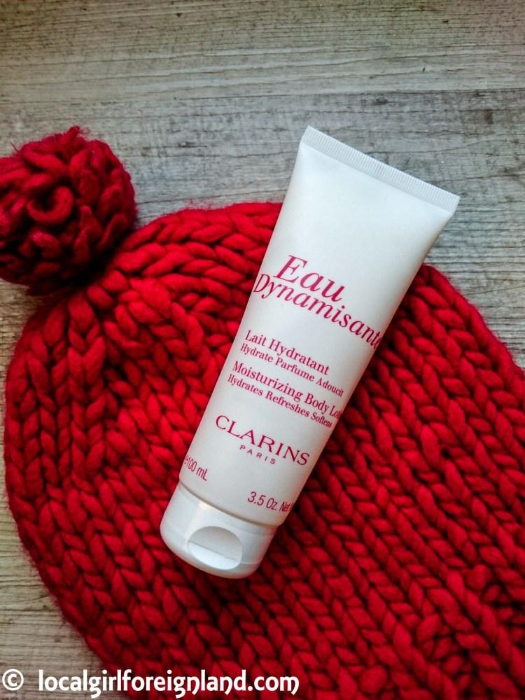 Clarins Eau Dynamisante moisturising body lotion