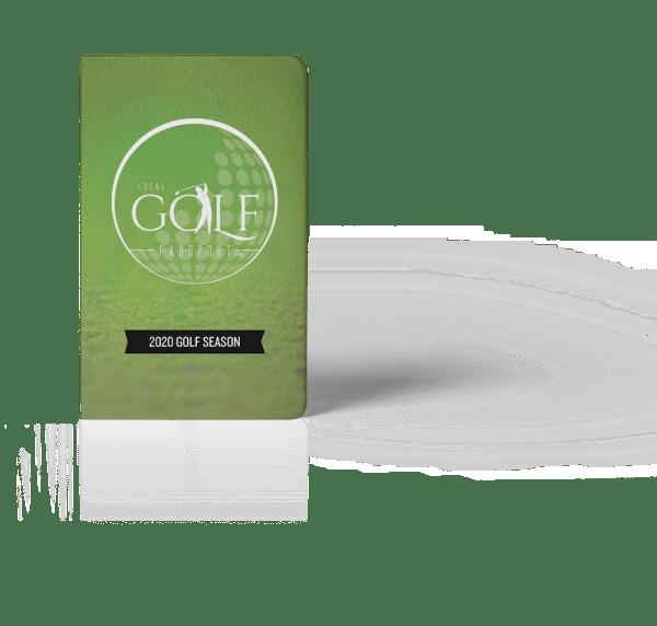 Golf Passport Cover Image