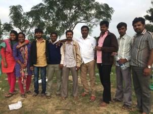Our team with Nangali Gram Panchayat Office members