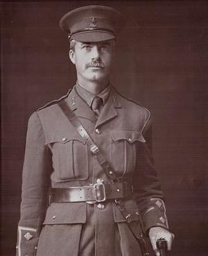 Captain S A Atkinson. Killed in action – circa 1917.