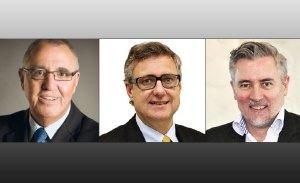 Stephen Selwood, Infrastructure NZ. Matt Ensor, Beca. Bryce Julyan, Beca.
