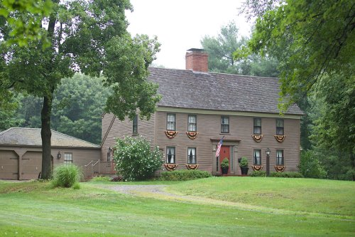 BUILT in 1667, the Joseph Henfield House at 300 Main St. is the oldest house in town and one of only eight first-period homes still standing.    (Kerry Goodwin Photography)