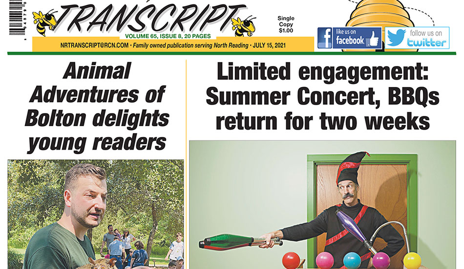 Front Page: July 15, 2021
