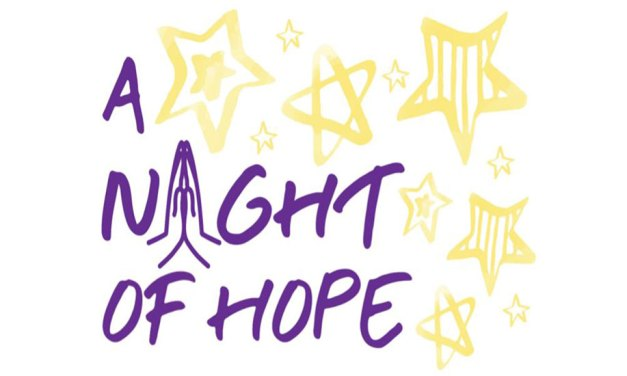 A Night of Hope returns Sunday, Sept. 26