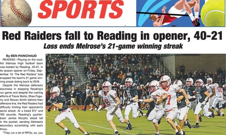 Sports Page: September 17, 2021