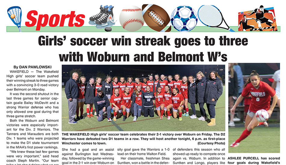 Sports Page: October 13, 2021