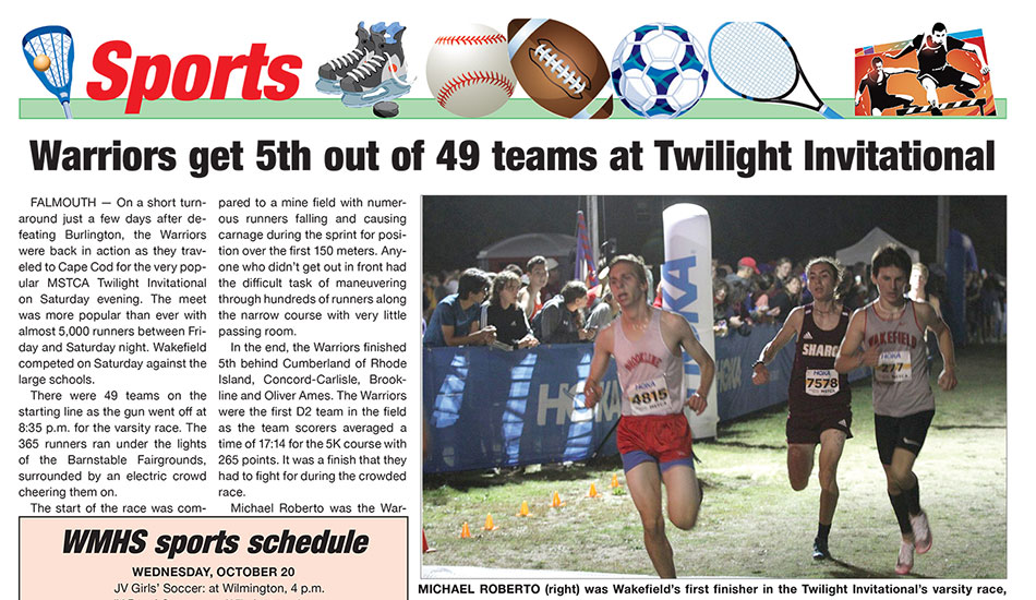 Sports Page: October 20, 2021