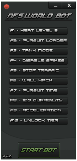 LiveDown Need for Speed World Bot v4.0