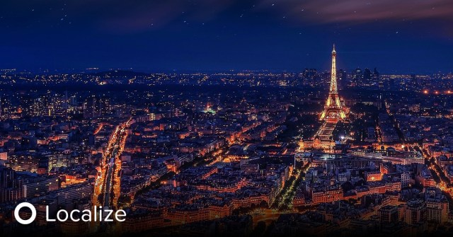 Aerial night view of paris. Top 10 Untranslatable French Words and Phrases.
