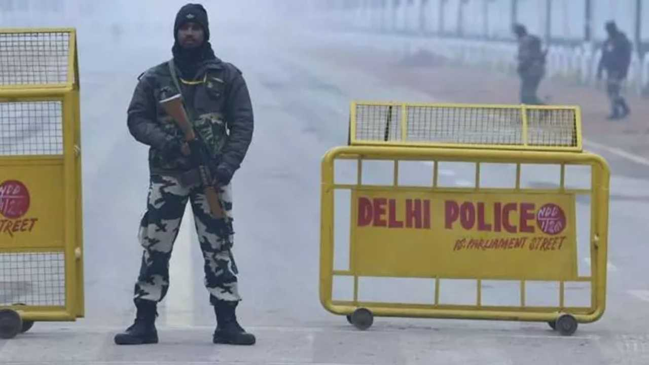 Delhi Police arrested five terrorists