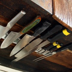 Magnetic Kitchen Knife Holder Cabinet Corner Protectors Space Solutions Under Rack