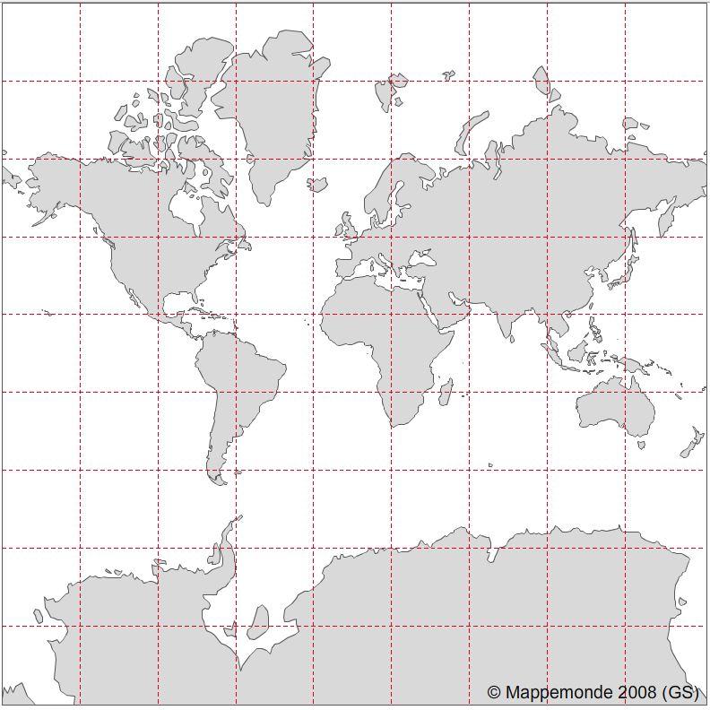 Quel planisphère de référence pour Google Maps ? (4/6)