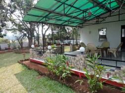 Verandah facing backyard