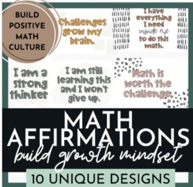 math mindset