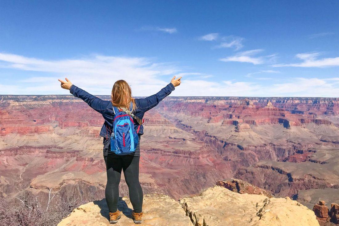 Maricopa Point at Grand Canyon South Rim