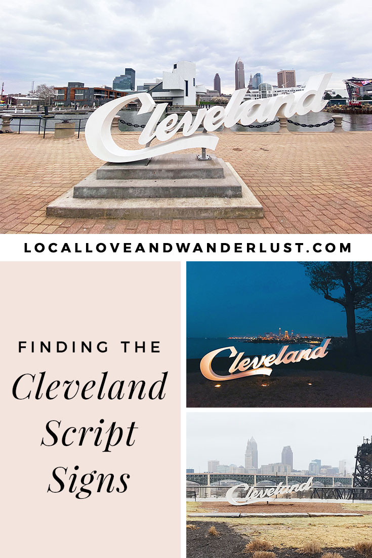 Finding the Cleveland Script Signs