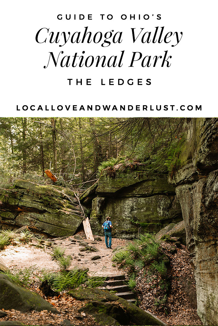 Hiking the Ledges in Cuyahoga Valley National Park