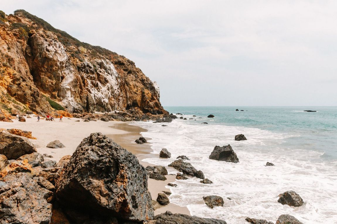 Hidden Malibu Pirate's Cove, Malibu California | as seen on the Local Love and Wanderlust Blog