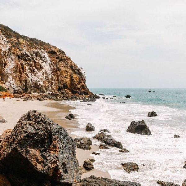 Hidden Malibu Pirate's Cove, Malibu California | as seen on the Local Love and Wanderlust Blog
