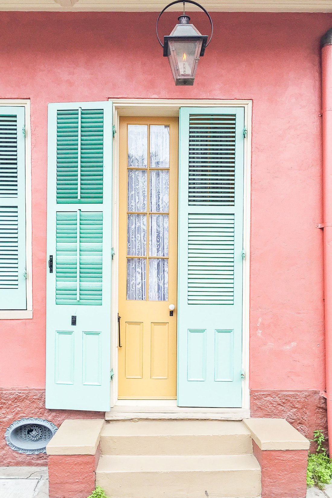 Colorful Doorway in New Orleans