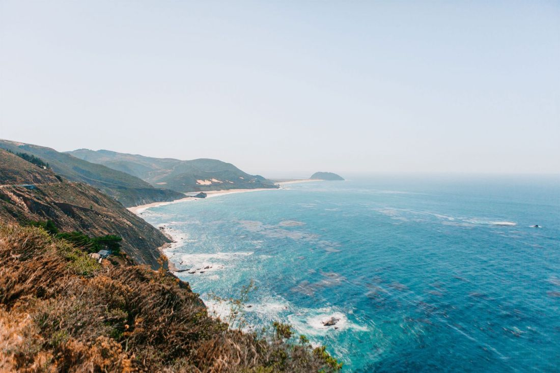 Incredible views of the Pacific Ocean in Big Sur's Hurricane Point View | as seen on the Local Love and Wanderlust Blog