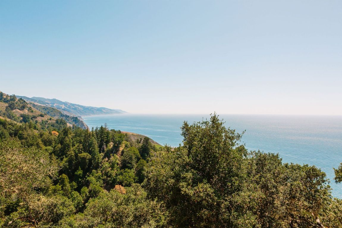 Views of Big Sur from the porch of Nepenthe | as seen on the Local Love and Wanderlust Blog