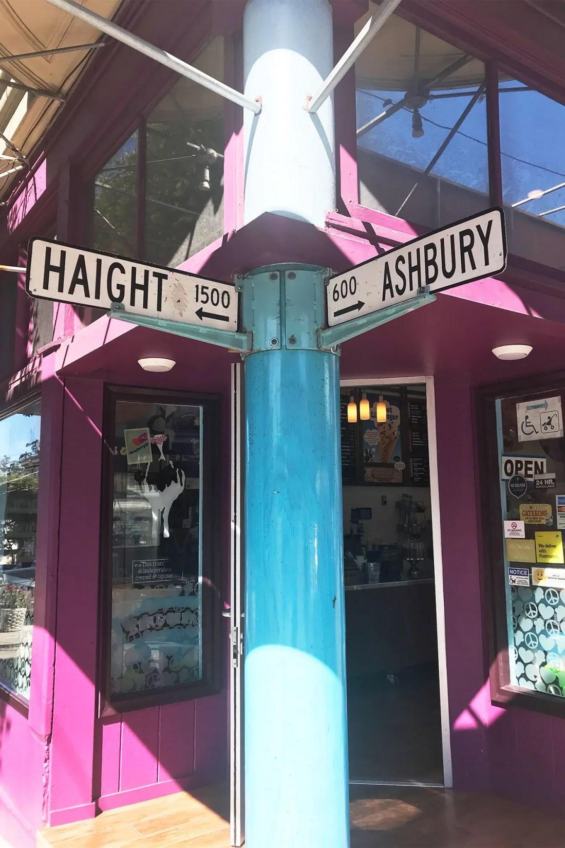 Haight Ashbury in San Francisco