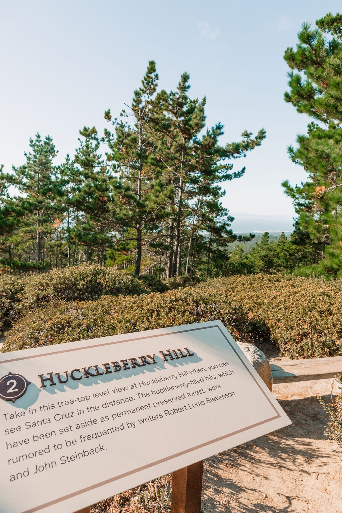Huckleberry Hill in 17-Mile Drive Monterey, California