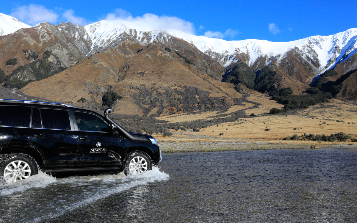 4WD accessed locations