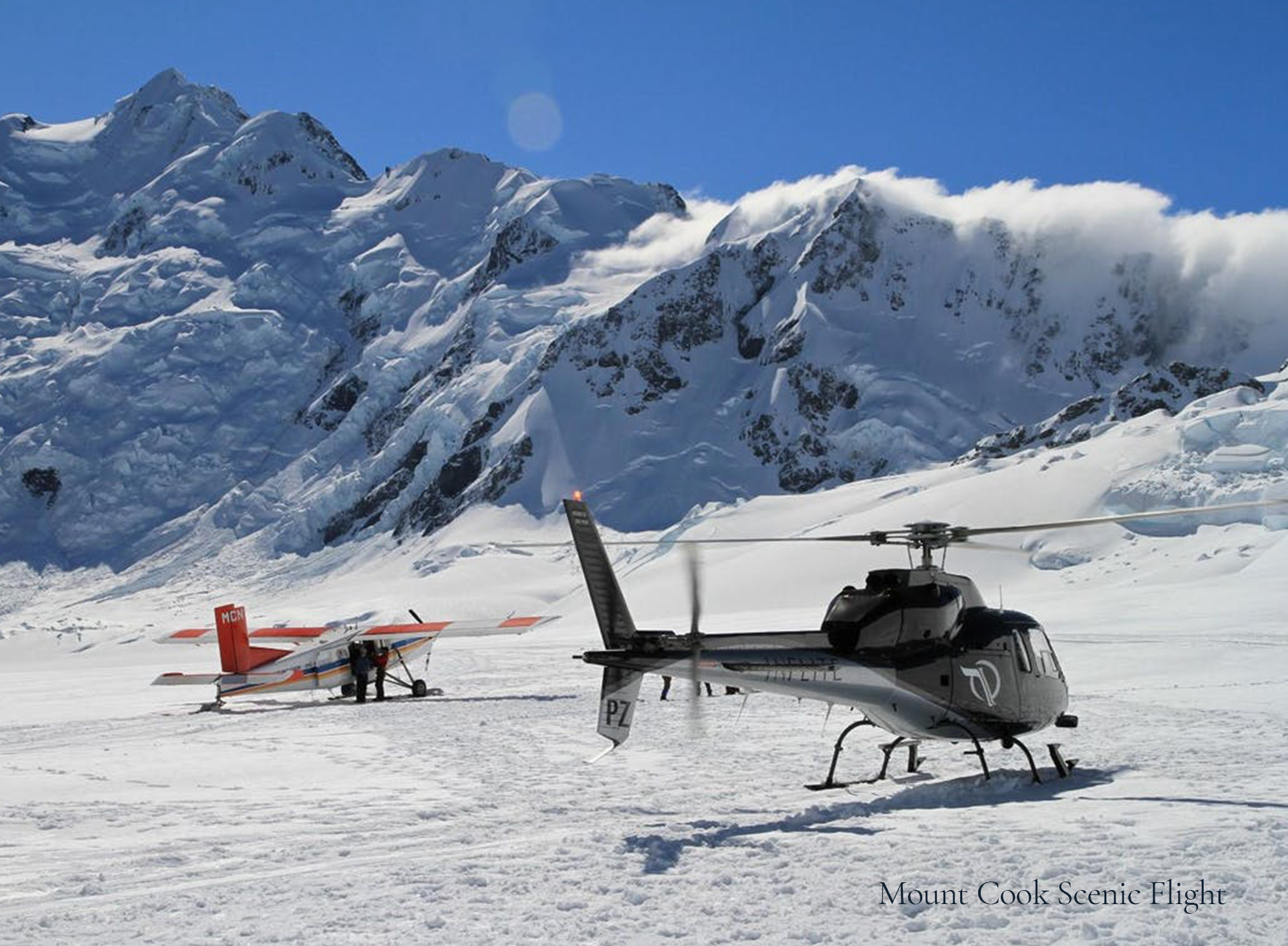 Mount Cook Flight - Helicopter and Plane