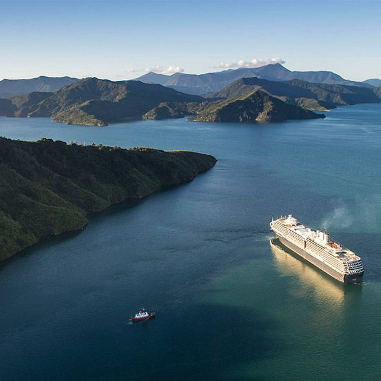 Interislander Ferry - Marlborough Sounds