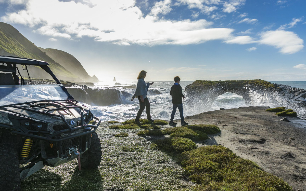 CanAm Property Tour at Cape Kidnappers
